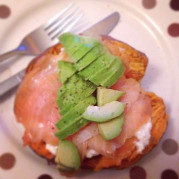 Smoked salmon & avocado