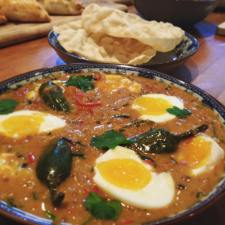 Keralan egg curry